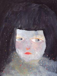 Paola Zakimi - dark girls head