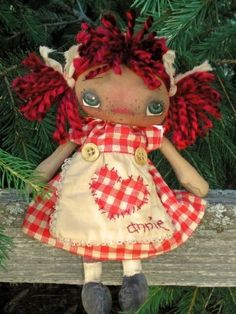Every Day Annie EPattern by myraggedydolls on Etsy, $7.50 - Designed by Julie G Marcotte