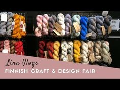 Lina Knits - Lina Vlogs: Finnish Craft & Design Fair. Vlogging about woolly things between podcast episodes!