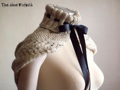 Hooded Cowl Knitting Pattern, Alasse Miriel, PDF. $5.00, via Etsy. ~ just purchased this can't wait to start it