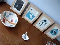 Framed mini-prints