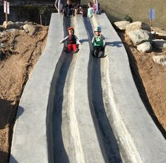 Fabulous new parks are as elusive as the Easter Bunny.  Well, look what just hopped, er, popped up this spring in Hermosa Beach!  A gorgeous new ADA accessible park with a slide the whole family will flip for.