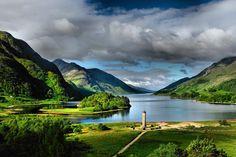Early morning in Glenfinnan (northwest Scotland) by Rajmund67.deviantart.com on @deviantART