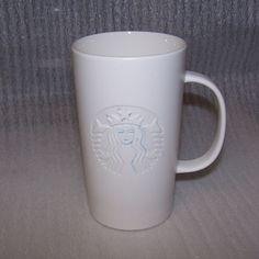 2014 Starbucks Ceramic Etched Mug 16 Ounce Cup #StarbucksCoffeeCo