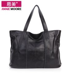 Handbags 2013 New Leather Big Bag Genuine Leather Sling Bag Simple Leisure Europe And The United States Commuter Package Leather handbags 17657223867