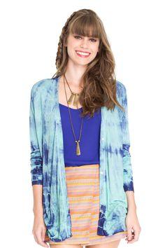 cardigan tie dye - Casacos | Dress to