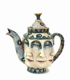 Asleep teapot