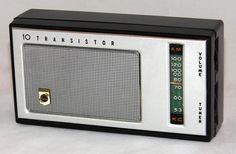 https://flic.kr/p/A6P7YT | Vintage Koyo 10-Transistor AM Radio, No Model Number, Made In Japan, Circa 1960s