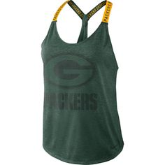 157dba5be24 Green Bay Packers Women s Dry Elastika Tank Nfl Packers