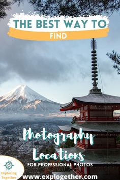 How To Find Photography Locations Like a Pro | If you want to take better photos and make professional photography, then you need to learn how to find photography locations like a pro. These techniques will help you to find inspiration for your next photoshoot and learn how to create unique pictures. Learn travel photography and how to find travel photography locations #howtofindphotographylocations #travelphotographylocations #travelphotographyinspirtation #findphotographylocations Photography For Beginners, Photography Tutorials, Drone Photography, Photography Editing, Place To Shoot, World Pictures, Take Better Photos, Like Instagram, Holiday Pictures