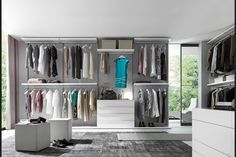 walk-in closet as its own room