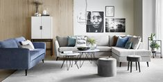County soffa från Mio. Interior Decorating, Interior Design, Outdoor Furniture Sets, Outdoor Decor, Mid-century Modern, Couch, Living Room, Home Decor, Modern Sectional