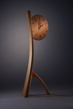 Brian Hubel- Fine Wood Furniture - clock