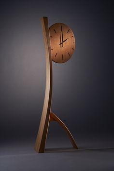Brian Hubel- Fine Wood Furniture - clock