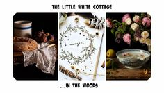 The little white cottage in the woods