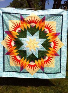 Summer Solstice, Quiltworx.com, Made by Karen Hammond.