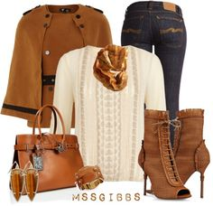 """All About the Bag & Shoes"" by mssgibbs on Polyvore"