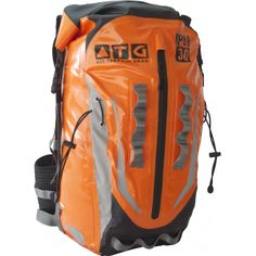 Multi-Activity 30L Backpack  Whether you traverse canyons, hike around forest, Kloofing, biking, hiking, Globetrotting, fishing or just commute to work on your scooter, ATG back packs are tough enough to handle the abuse of daily use.  100% Waterproof, dust-proof, storm-proof, mud-proof, snow-proof,sand-proof with a roll top closure and our unique removable back support to convert the Back pack into a stuff