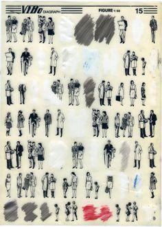 Letraset-figures