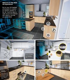 Furniture-retail giant Ikea has unveiled a virtual reality experience that could make decorating decisions easy, at least when it comes to outfitting your kitchen.