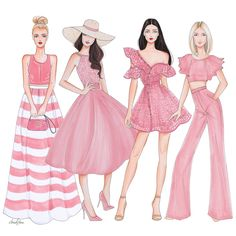 Fashion Illustration Speed Painting with Ink – Fashion Models Dress Design Drawing, Dress Design Sketches, Fashion Design Sketchbook, Dress Drawing, Fashion Design Drawings, Fashion Sketches, Drawing Clothes, Drawing Style, Drawing Sketches