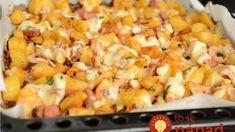 Katalánske zemiaky: Netreba vám žiadnu majonézu ani tatársku – u nás sa vyjedajú priamo z plechu! Food 52, Gnocchi, Ham, Macaroni And Cheese, Food And Drink, Potatoes, Snacks, Meals, Vegetables