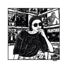 "25 отметок «Нравится», 1 комментариев — arafah nur iman (@arafah.n.iman) в Instagram: «""...."" #sexy #illustration #art #ink #doodling #womeninframe #blackandwhite #grungegirl…»"