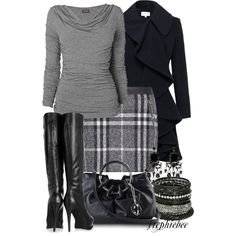 Plaid Skirt - Polyvore