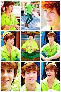 This is the Spieling Peter Pan - he was at Disneyland for a while and was absolutely perfect. But he started to grow up and look his age, so they offered him a different position there at Disneyland but he didn't take it. I'm trying not to cry that I didn't ever meet this one...