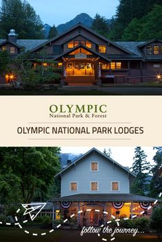 Planning an Olympic National Park vacation? Learn more about the 4 charming and historic lodges that make up the Lodges of Olympic National Park and Forest.