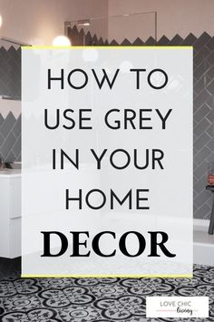 If you want ideas on how to use grey in your home, click through. Whether you want black and white ideas for a living room, grey with pops of colour, or with yellow, blue, pink and navy, find some inspiration in this home decor blog post.   #lovechicliving #greyhome #blackandwhite Cute Home Decor, Target Home Decor, Classic Home Decor, Home Decor Store, Cute Diy Room Decor, Diy Christmas Decorations For Home, Unique Home Decor, Vintage Home Decor, Christmas Home