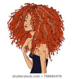 Find curly hair vector stock images in HD and millions of other royalty-free stock photos, illustrations and vectors in the Shutterstock collection. Thousands of new, high-quality pictures added every day. African American Artist, American Artists, Hair Vector, Curly Girl, Curly Hair Styles, Images Photos, Pictures, Royalty Free Stock Photos, Portrait