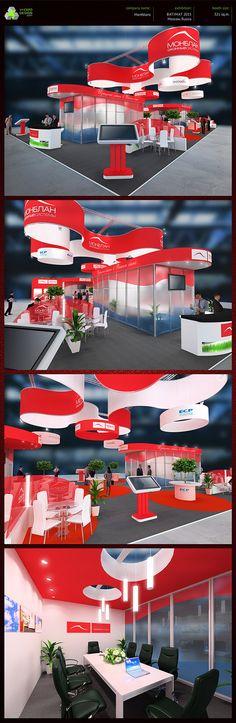Montblanc exhibition booth design on Behance