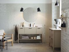 Home Interior Layout Three Beautiful and Inspiring Bathroom Concepts How To Get The Looks.Home Interior Layout Three Beautiful and Inspiring Bathroom Concepts How To Get The Looks Retro Home Decor, Easy Home Decor, Cheap Home Decor, Black Side Table, White Side Tables, Yellow Cabinets, Bathroom Design Inspiration, Design Ideas, Luxury Decor