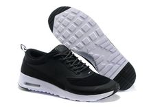 Nike Air Max Thea Mens Black and White Trainers UK