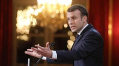 France's Macron to introduce legislation to combat 'fake news'