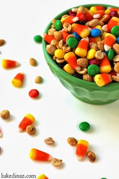 Fall Mix. Candy corn, peanuts & chocolate candies make the perfect fall mix…