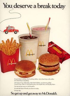 See Early Ads and Photographs From the McDonald's Archives