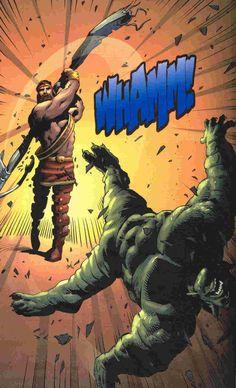 Marvel: Hercules vs Abomination