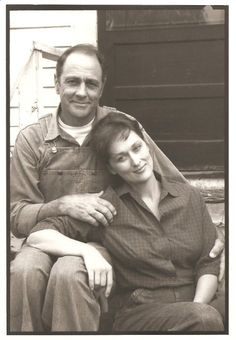 "With Jim Haynie, ""The Bridges of Madison County"" (1995)"