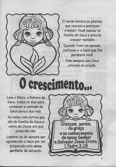 """Minha Herança"": * ""O Plano Perfeito"" Bible, Classroom, Lol, Comics, Kids, Malaga, Professor, Kids Study, Sunday School Lessons"