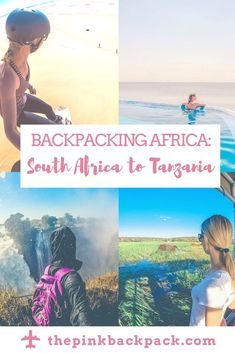 Are you interested in backpacking Africa? There is SO much to see and do within the continent. Here is an example itinerary for destinations and activities from Cape Town, South Africa to Mwanza, Tanzania. Travel Guides, Travel Tips, Solo Travel, Train Travel, Travel Essentials, Travel Photos, China Travel Guide, Chobe National Park, Africa Destinations