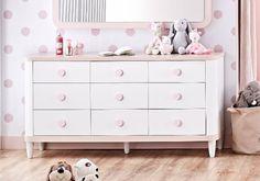 Παιδική συρταριέρα Lima 2208 Dresser, Furniture, Home Decor, Powder Room, Decoration Home, Room Decor, Stained Dresser, Home Furnishings, Chest Of Drawers