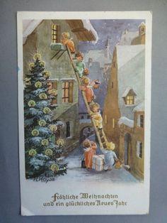 AK Weihnachten, Engel, Hoyos, gel. - EUR 1,00 | PicClick DE