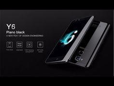 DOOGEE Y6 Piano Black 5.5 Inch Fingerprint 4GB RAM 64GB ROM MTK6750 Octa Core 1.5GHz 4G Smartphone - YouTube