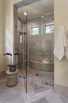Bathroom decor for your master bathroom remodel. Learn bathroom organization, bathroom decor tips, master bathroom tile some ideas, bathroom paint colors, and much more. Dream Bathrooms, Beautiful Bathrooms, Small Bathroom, Bathroom Ideas, Master Bathrooms, Bathroom Organization, Bathroom Designs, Bathroom Mirrors, Luxury Bathrooms