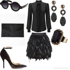 All Black Everything! | Women's Outfit | ASOS Fashion Finder