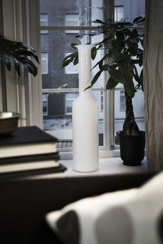 Our FYLLIG vase really fits the loft trend this year with its clean, modern lines.