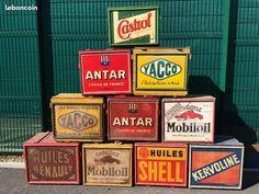 Caisse ancienne pour Bidon d,huile