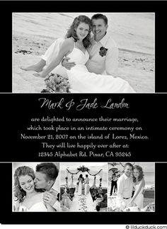 Classic...Google Image Result for http://the-weddingvendors.com/wp-content/uploads/2010/02/wedding-announcement-wording-samples-2.jpg